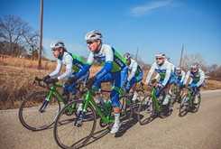 Oklahoma City-based Team Arapahoe Resources, a men's domestic elite bicycle racing team, placed second in the first two regional races of its inaugural season last month in Texas.