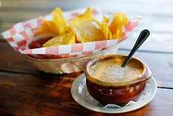 Enjoy queso and more at The Mont in Norman