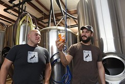 A swing through Roughtail Brewing Company in Midwest City won't end with the cash register ringing up a six-pack of its top high-point beer.