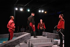 Reduxion Theatre's <i>Henry V</i> is a well-acted, niftily presented affair