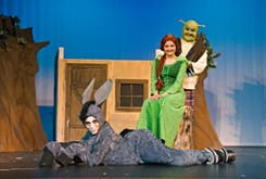 Local youth provide on-stage version of <i>Shrek</i>