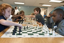 Chess program builds love of game in students