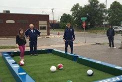 First Friday features soccer billiards with Energy FC