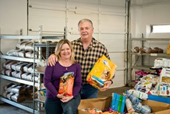 Charity provides food for pets of city's impoverished