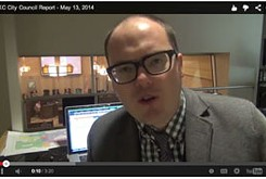 VIDEO: City council report, 5-13-14