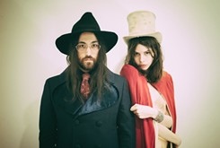 Let's just get this over with: The Ghost of a Saber Tooth Tiger is the self-admittedly silly moniker under which Sean Lennon and model Charlotte Kemp Muhl play psychedelic, '60s-throwback music.