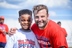 Wes Welker Foundation levels playing field for youth