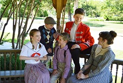 Sooner Theatre uses <em>The Music Man</em> to teach acting and show production