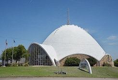 OKC's iconic Church of Tomorrow and surrounding land for sale