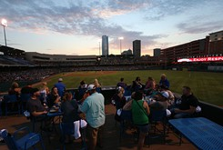"""""""The line I use and nobody has ever contested it is, 'No city in America has come as far as fast as Oklahoma City,'"""" said Mayor Mick Cornett. """"The ballpark was the beginning."""""""