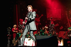 The Brian Setzer Orchestra takes a three-day residency in Oklahoma on its annual Christmas tour