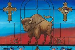 Oklahoma artist Robert Taylor puts his art career on display in a special exhibit at Fred Jones Jr. Museum of Art