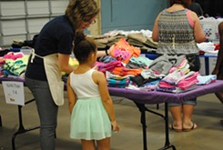 Back 2 School events provides clothing and school supplies to foster children