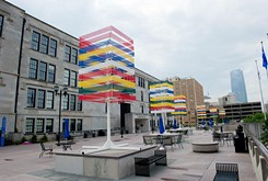 Local architect illustrates Oklahoma City's history through art installation