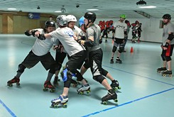 Teams from Oklahoma City and Tulsa merge to form Oklahoma Men's Roller Derby