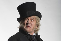 Broadway actor Dirk Lumbard stars as Scrooge in Lyric Theatre's production of <em>A Christmas Carol</em>