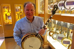 Oklahoma's American Banjo Museum recently acquired a rare instrument
