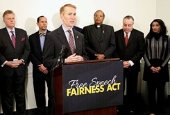 Sen. James Lankford asserts nonprofit organizations are unfairly prevented from engaging in political activity
