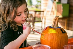 Pumpkinville welcomes children and families to Myriad Botanical Gardens