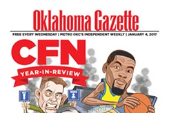 Cover Teaser: Oklahoma Gazette remembers 2016 and makes predictions