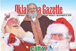 COVER TEASER: Santa's helpers in OKC strive to spread seasonal cheer
