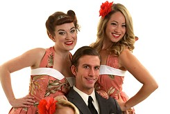 Pin-Ups on Tour honors veterans with free admission to its show 8 p.m. Sunday at Jazmo'z Bourbon St. Café.