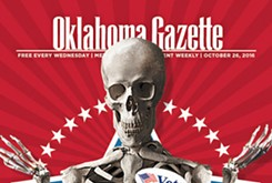 Cover Teaser: Haunt OKG's election coverage before you haunt the ballot box on Nov. 8