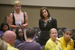 State superintendent holds town hall meeting to address new education standards