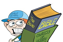 Chicken-Fried News: Hobby Bible Lobby