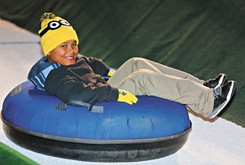 More than snow tubing, LifeShare WinterFest transforms Chickasaw Bricktown Ballpark into a winter wonderland