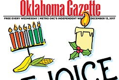 Cover Teaser: Oklahoma Gazette gets into the spirit with a look at how Christmas, Hanukkah and Kwanzaa are celebrated in OKC.