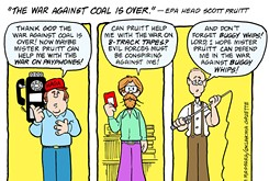Cartoon: 'The war against coal is over'