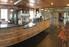 Classen Coffee Company opens after a lengthy delay over the sprinkler system