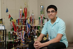 High school student Advait Patel is the first Oklahoman International Master chess player