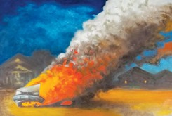 Fiery landscapes