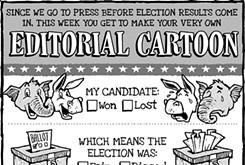 Cartoon: Midterm 'toon up