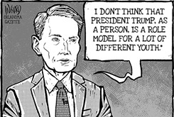 """Cartoon: Model """"T"""""""
