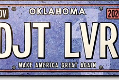 Chicken-Fried News: Vanity plates