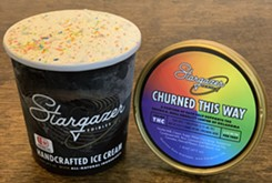 PRESS RELEASE Stargazer Edibles launches Churned This Way Pride ice cream