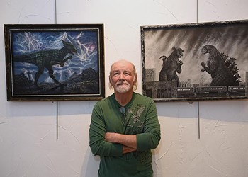 SciFi artist featured at Planet Dorshak