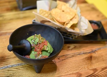 A new taco shop mixes premium ingredients with an eclectic atmosphere to create a unique dining experience