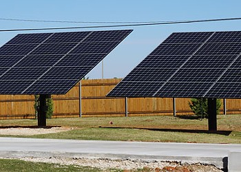 In Oklahoma, where solar potential and solar production rankings don't match, residential solar power systems are rising