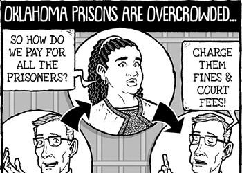 Cartoon: Circle of life (in prison)