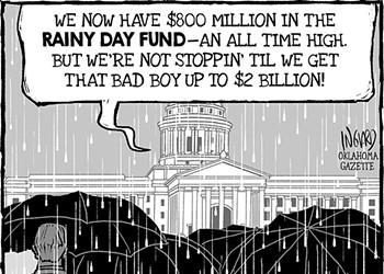 Cartoon: Rainy Day