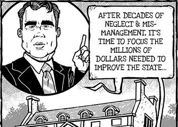 Cartoon: Mind your manors