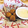 Boudin balls at Brent's Cajun Seafood & Oyster Bar |     Photo Jacob Threadgill