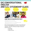 OIC Conversational English Class @ Opportunities Industialization Center of OK County, Inc. (OIC)