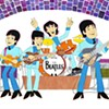 Beatles Cartoon Pop Art Show featuring animator Ron Campbell @ Framed in the Village