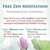 Free Zen Meditation Class @ Buddha Mind Monastery