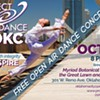 Free Open Air Dance Concert in Downtown OKC @ Myriad Botanical Gardens
